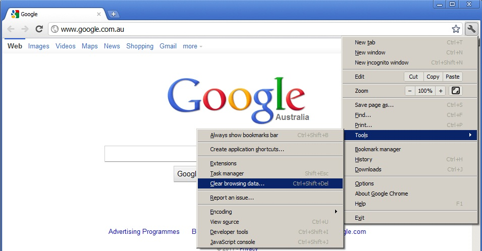 Как очистить браузер