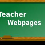 Сайт педагога структура и содержание